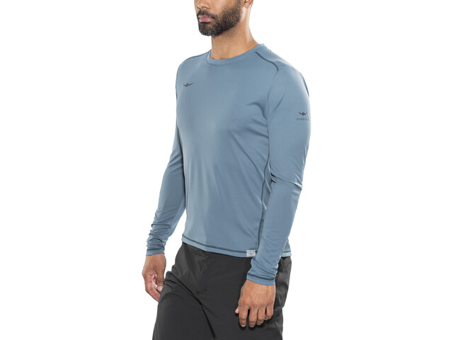Kaikkialla Toni - Camiseta de manga larga Hombre - azul